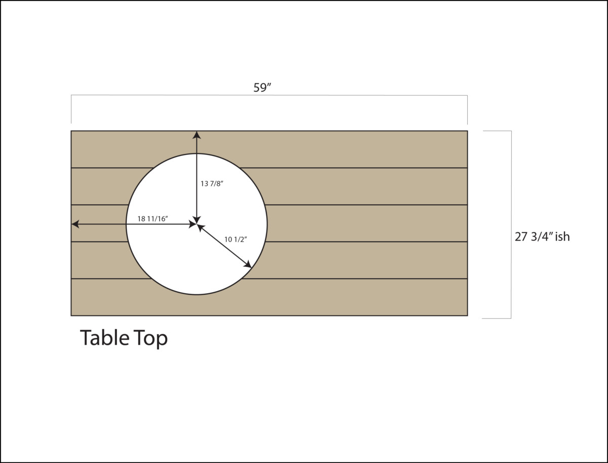 Big Green Egg Table Plans